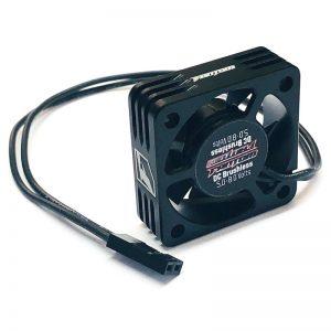 30mm Aluminum Case Motor Fan – Black