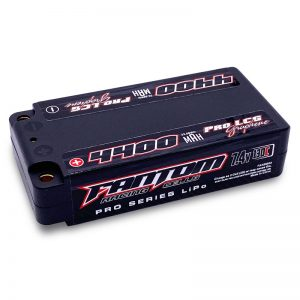 4400mAh, 130C, 7.4v, 2-Cell, LOW PROFILE SHORTY, PRO SERIES Silicon Graphene LiPo – NEW IMPROVED CASE