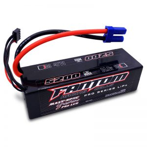 130C PRO RACING LiPo – 5200mAh, 14.8v, 4-Cell, LOW PROFILE, EC5 – NEW IMPROVED CASE