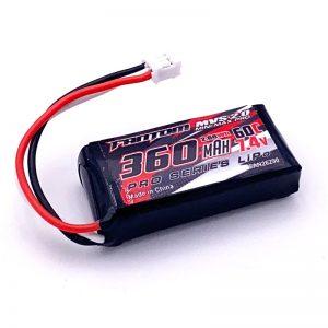 NEW – 360mAh, 60C, 7.4v, 2S, MVS 2.0 MINI-MAX PRO LiPo